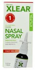 Xlear Saline Nasal Spray with Xylitol, 1.5 oz.
