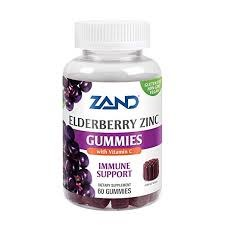 Zand Elderberry Zinc Gummies, 60 count