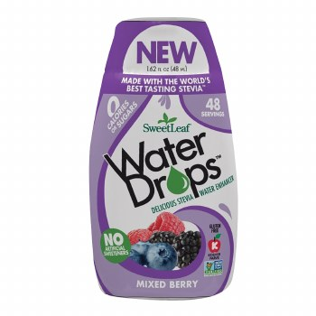 SweetLeaf Organics Mixed Berry WaterDrops, 1.62 fl. oz.