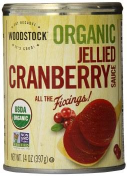 Woodstock Farms Organic Jellied Cranberry Sauce, 14 oz.