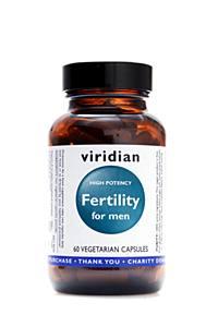 Viridian Nutrition Fertility for Men 60