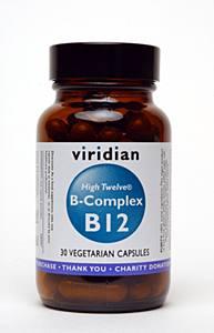Viridian Nutrition High Twelve B-Complex  30