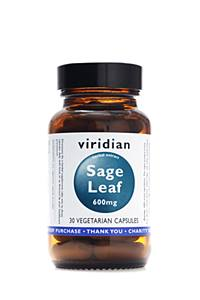 Viridian Nutrition Sage Extract 400mg 90