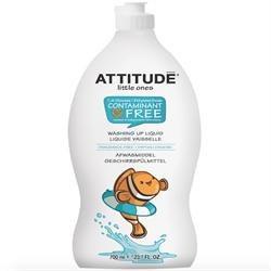 Attitude Washing Up Fragrance Free 700ml