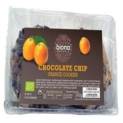 Biona Org Choc Chip Orange Cookies 240g