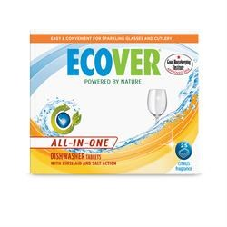 Ecover All in One Dishwasher Tab 22 tablet