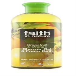 Faith in Nature Grapefruit & Orange Body Wash 400ml