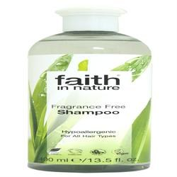 Faith in Nature Fragrance Free Shampoo 400ml