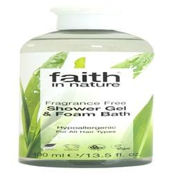 Faith in Nature Fragrance Free Body Wash 400ml
