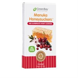 GreenBay Harvest Red Superfruits Manuka Honey 8 lozenges
