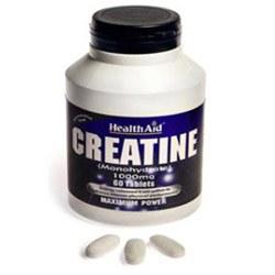 HealthAid Creatine Monohydrate 1000mg 60 tablet