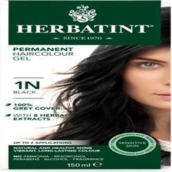 Herbatint Black Hair Colour 1N 150ml