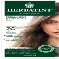 Herbatint Ash Blonde Hair Colour 7C 150ml