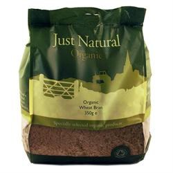 Just Natural Organic Org Wheat Bran 350g