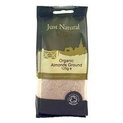 Just Natural Organic Org Almonds Ground 125g