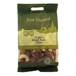 Just Natural Organic Org Mixed Nuts 250g
