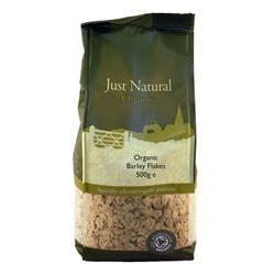 Just Natural Organic Org Barley Flakes 500g