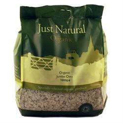 Just Natural Organic Org Jumbo Oats 1000g
