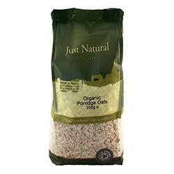 Just Natural Organic Org Porridge Oats 350g