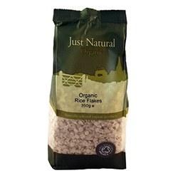 Just Natural Organic Org Rice Flakes 350g