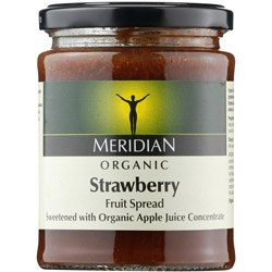 Meridian Org Strawberry Fruit Spread 284g