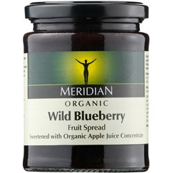 Meridian Org Blueberry Fruit Spread 284g