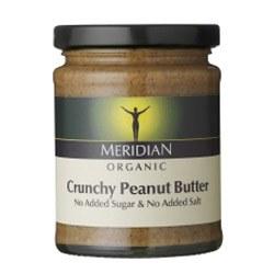 Meridian Org Crunchy Peanut Butter 280g