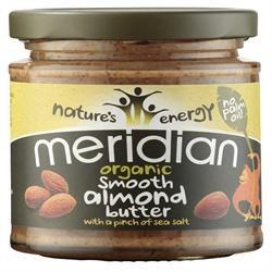Meridian Org Almond Butter With Salt 170g