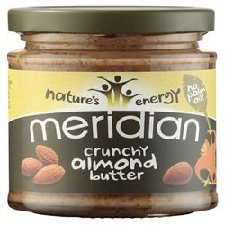 Meridian Crunchy Almond Butter 100% 170g