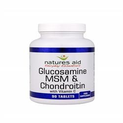 Natures Aid  Glucosamine MSM & Chondroitin 90 tablet