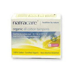 Natracare Org Non Applicator Tamp Super NULL