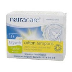 Natracare Org Non Applicator Tampons Reg NULL