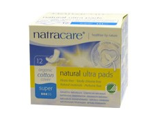 Natracare Ultra Pads Super with Wings 12pieces
