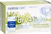 Natracare Dry & Light Inco. Slim Pads 20pieces