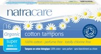 Natracare Org Applicator Tampons Super 16pieces