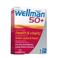 Vitabiotic Wellman 50+ 30 tablet