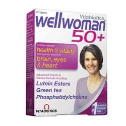 Vitabiotic Wellwoman 50+ 30 tablet
