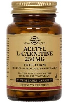 Solgar Acetyl-L-Carnitine 250 mg Vege 30