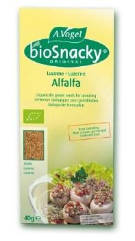 Bioforce Uk Ltd Biosnacky Alfalfa Seeds 40g