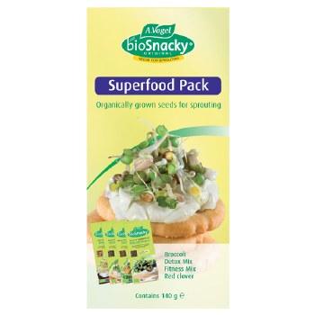 Bioforce Uk Ltd Biosnacky Superfood Pack 140g