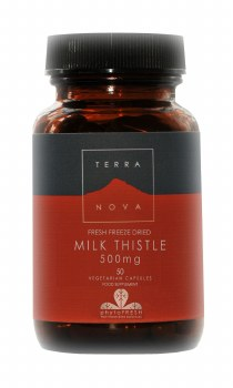 TERRANOVA Milk Thistle 500mg    50