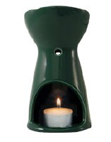 Absolute Aromas Oil Burner - Absolute Green 1 box