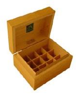 Absolute Aromas Wooden Storage Box 12 Holes box
