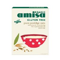 Amisa Org G/F Porridge Oats 325g