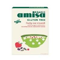Amisa Org G/F Fruity Oat Muesli 325g