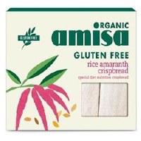 Amisa Org Rice & Amaranth Crispbread 120g