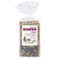 Amisa Org Poppyseed Crispbread 200g