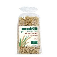 Amisa Org GF Wholegrain Rice Fusilli 500g
