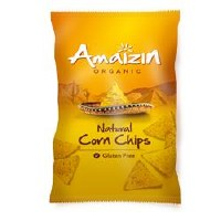Amaizin Org Natural Corn Chips 250g