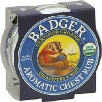 Badger Mini Aromatic Chest Rub 21g